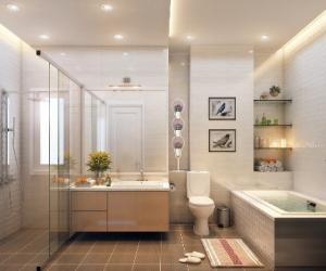 Tạo sao nên treo tranh trong phòng vệ sinh?