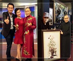 Tranh thêu tay Thêu Việt với nghệ sĩ Xuân Hinh