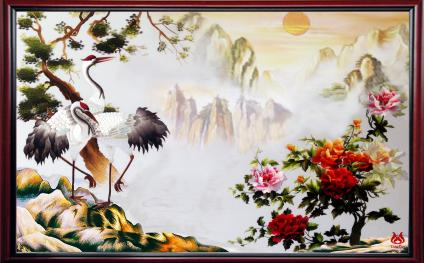 Cedars and cranes live long
