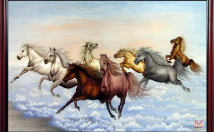 Horses arrive, success follows
