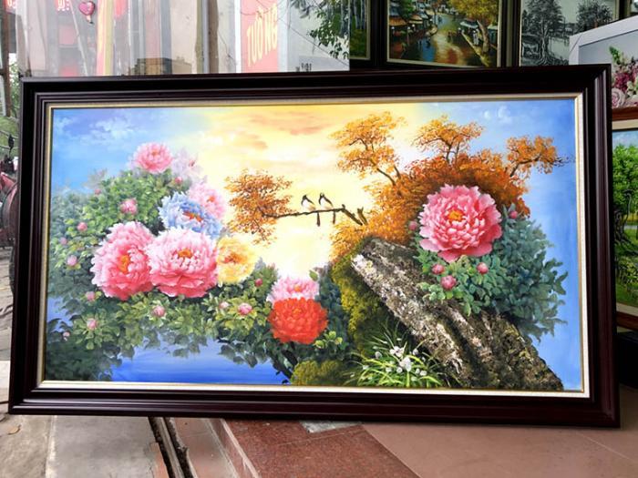 cac mau tranh theu hoa mau don dep nhat 2019