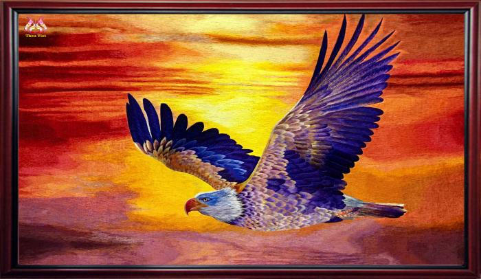 "High quality embroidery ""The Epic"" (the Eagle spreads its wings) 1"