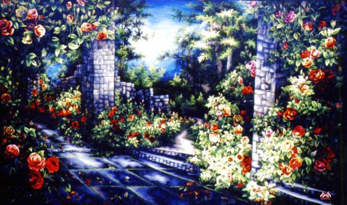 Tranh thêu tay phong cảnh (TVPC146)