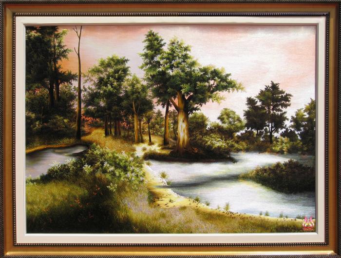 Tranh thêu tay phong cảnh (TVPC185)