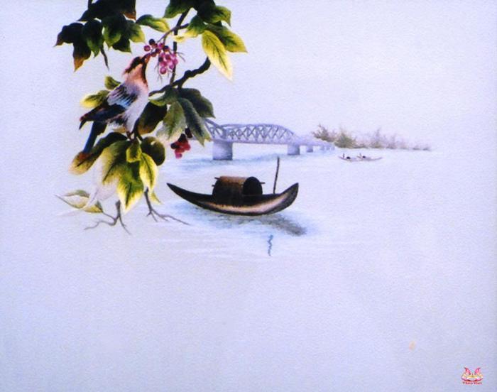 Tranh thêu tay phong cảnh (MPC0134) 2