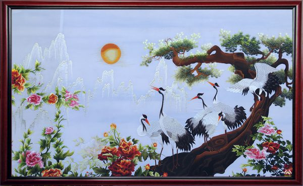 Cedars – Cranes - Peonies 1