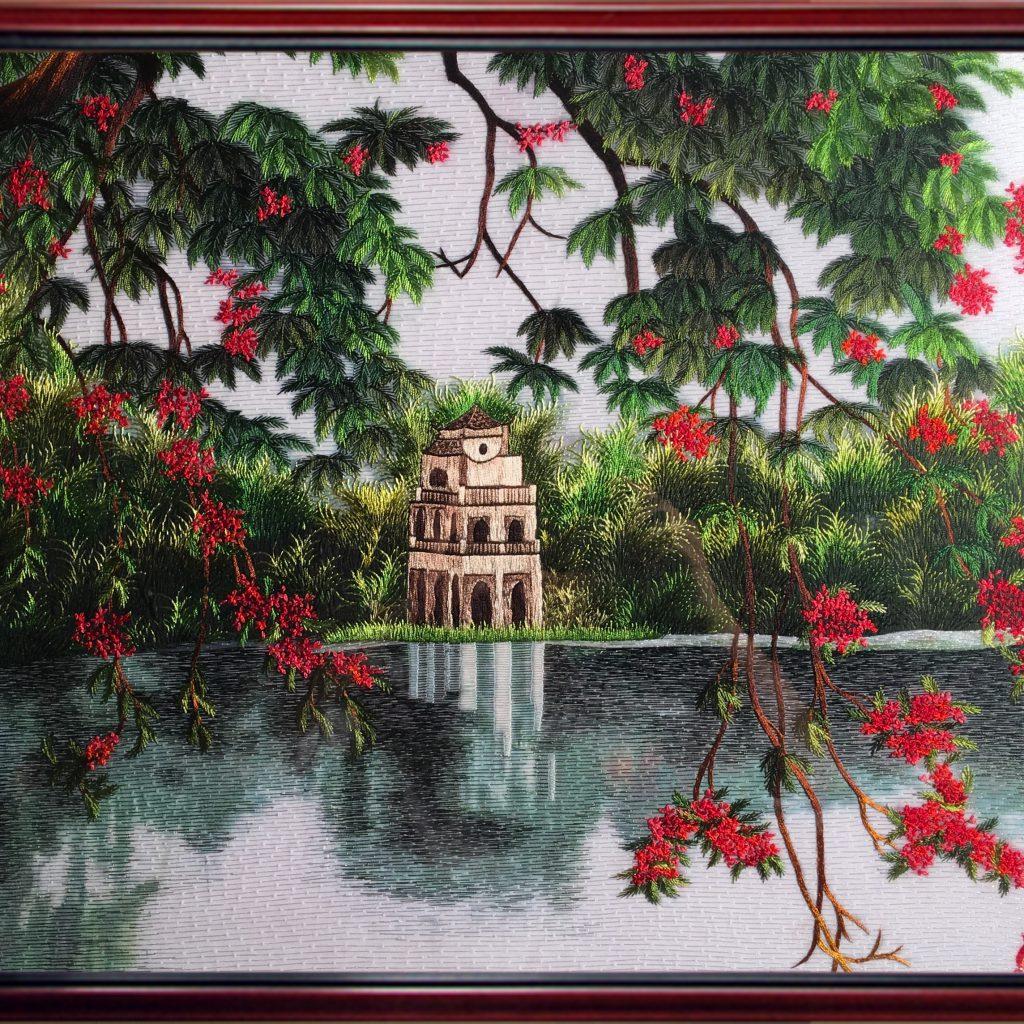 Hồ Gươm hoa phượng (MHG0018) 1