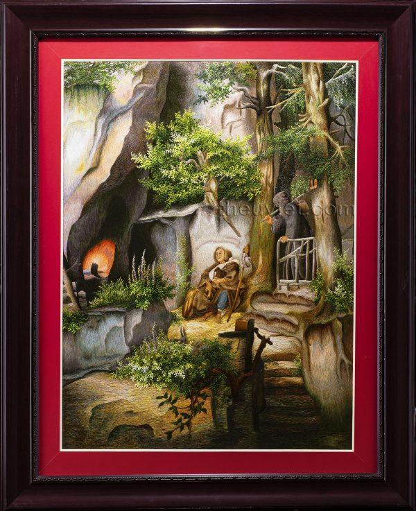 Tranh thêu phong cảnh châu âu MPC0250