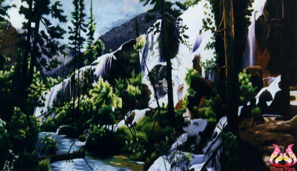 Tranh thêu tay phong cảnh (MPC0216) 1