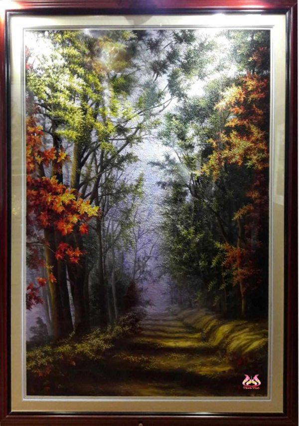 Tranh thêu tay phong cảnh (MPC0172) 1