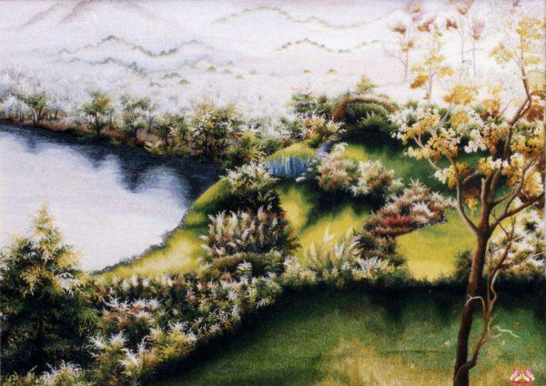 Tranh thêu tay phong cảnh (MPC0207) 1