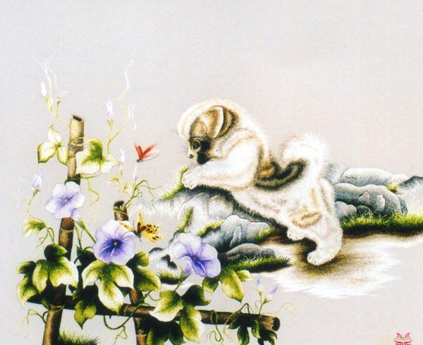 Tranh thêu tay phong cảnh (MPC0202) 1