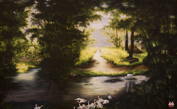 Tranh thêu tay phong cảnh (MPC0199) 1