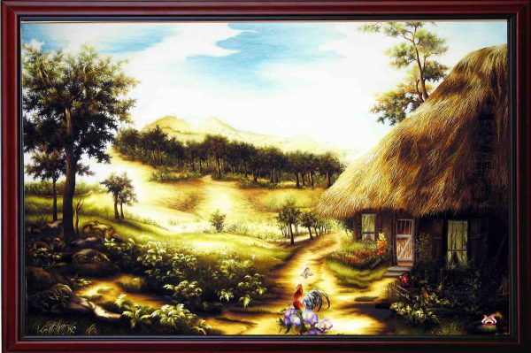 Tranh thêu tay phong cảnh (MPC0169) 1