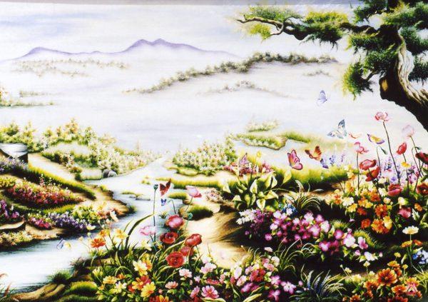 Tranh thêu tay phong cảnh (MPC0217) 1