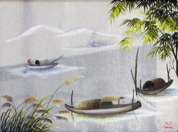 Tranh thêu tay phong cảnh (MPC0211) 1