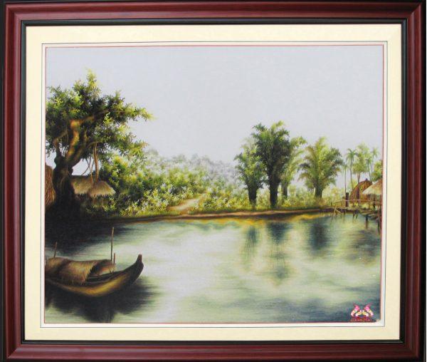 Tranh thêu tay phong cảnh (MPC0210) 1