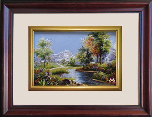 Tranh thêu tay phong cảnh (MPC0182) 1