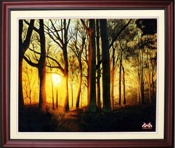Tranh thêu tay phong cảnh (MPC0181) 1