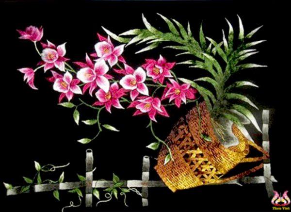 Hoa lan tím (MHOA0102) 1