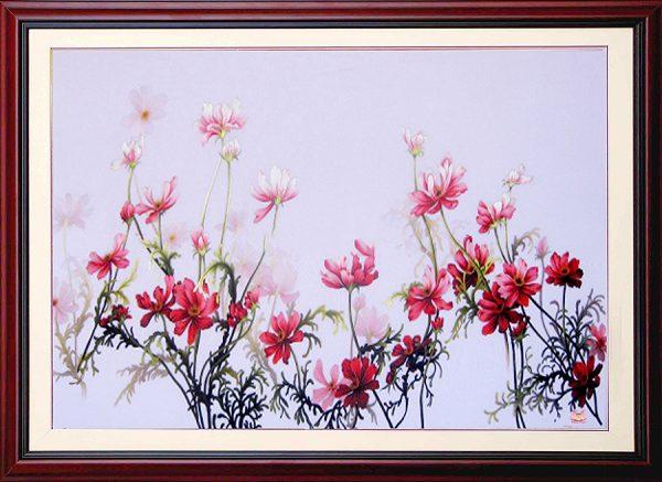 Tranh thêu tay hoa Colico (MHOA0115) 1