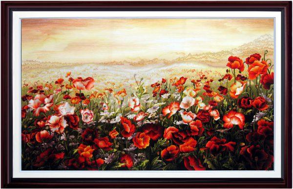 tranh thêu hoa Colico (MHOA0001) 1