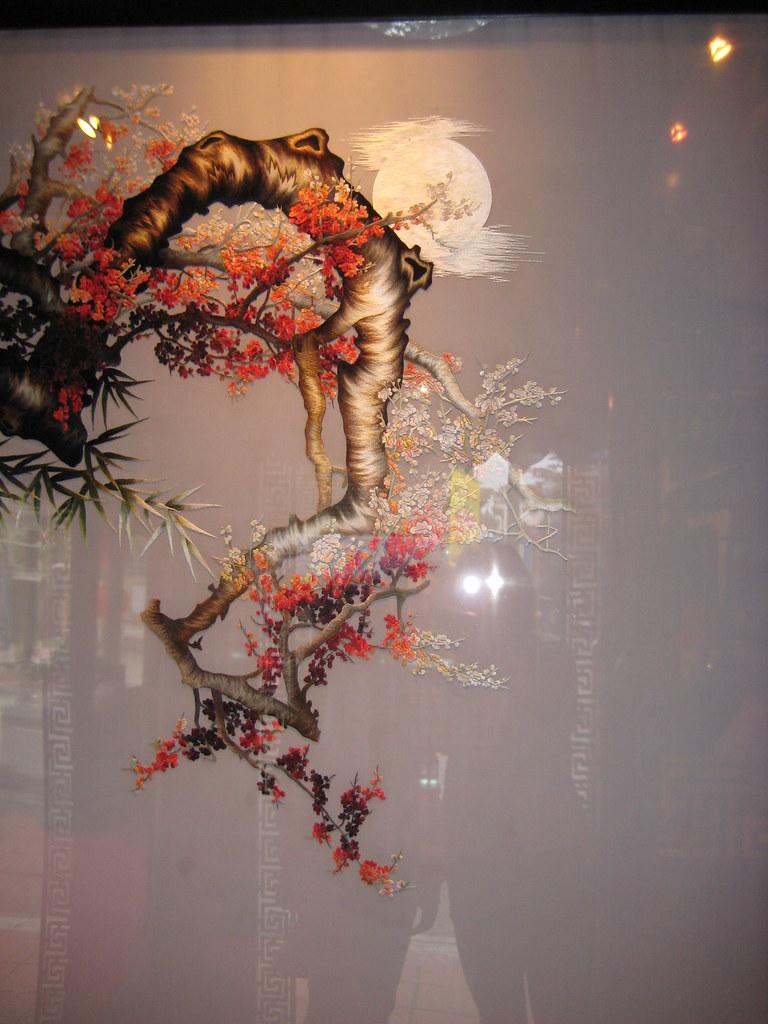 Tranh thêu hai mặt - tuyệt tác dòng tranh thêu 2