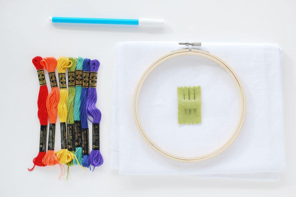 7 phương pháp thêu đơn giản khi thêu tranh thêu tay truyền thống 6