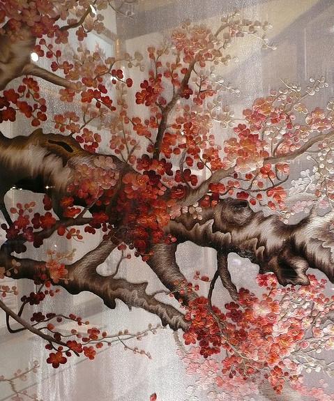 Tranh thêu hai mặt - tuyệt tác dòng tranh thêu 8
