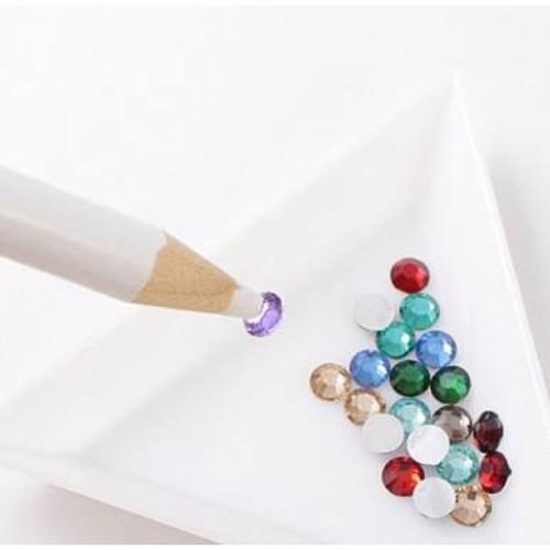 Hướng dẫn cách làm tranh đính đá cực kì đơn giản 10