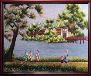 The Huc Bridge – The crown of Sword Lake