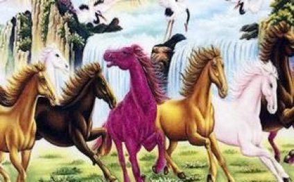 Ý nghĩa Tranh thêu ngựa và những cấm kị trong phong thủy 2020